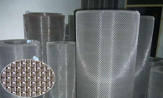 1.0-3m Width Stainless Square Wire Mesh Abrasion Resistance For Barbecue Mesh