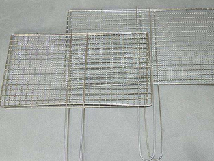 Food grade metal wire barbecue BBQ grills mesh,bbq mesh grill oven cooking mesh