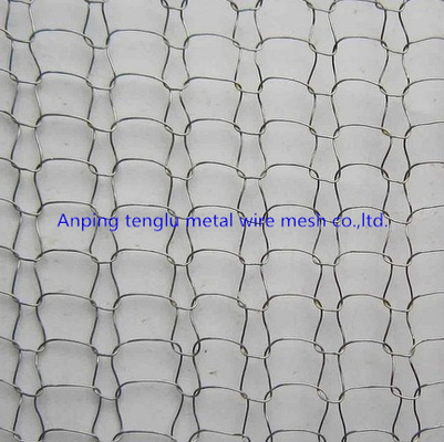 Compressed Knitted Wire Mesh Gasket 304 Stainless Steel Material With Overall Rigidity