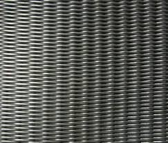 Reverse Dutch Woven Stainless Steel Wire Mesh Panels Plain Twill Customized Length