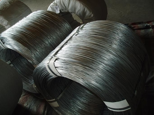 High Tensile Flat Stainless Steel Wire 0.5mm , Soft Black Annealed Wire