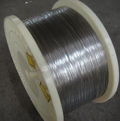Bright Surface Stainless Steel Flat Wire High Elasticity Excellent Straightness