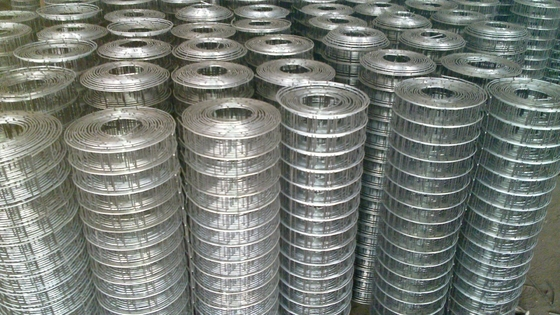 1/4 X 1/4 Building Reinforcing Welded Steel Mesh Hot Dipped Galvanized / Electrogalvanized