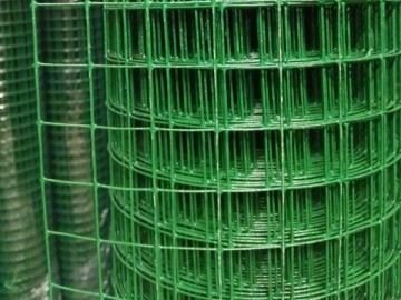 PVC Coated Welded Wire Mesh Roll Hot Dipped Galvanized With Small Hole