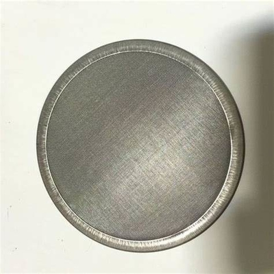 40 X 300 Stainless Steel Filter Mesh / Dutch Weave Wire Mesh Filter Disc