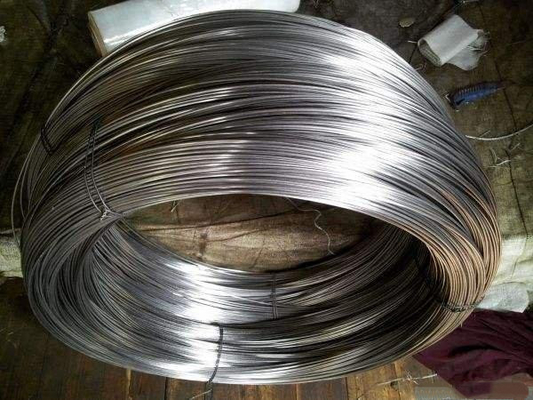Galvanized Iron Binding Wire / Stainless Steel Flat Wire Black Annealed Baling