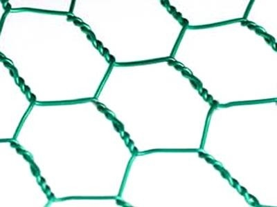 Woven Twist Hexagonal Wire Mesh Zinc Coated And PVC Coated With Different Color