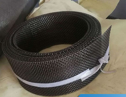 12 Mesh Twill Weave FeCrAl Woven Square Wire Mesh Heat Resistance For Infrared Burner